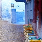 Boutique de colorants - Chefchaouen (Maroc)-1