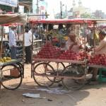 Etal de rue - Hyderabad (Inde)