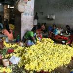 Marché aux fleurs - Hyderabad (Inde)