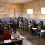 Salle de classe (Harar -Ethiopie)